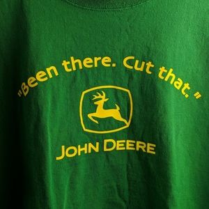 John Deere Green T-shirt size XL men's